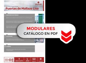 Catálogo modulares