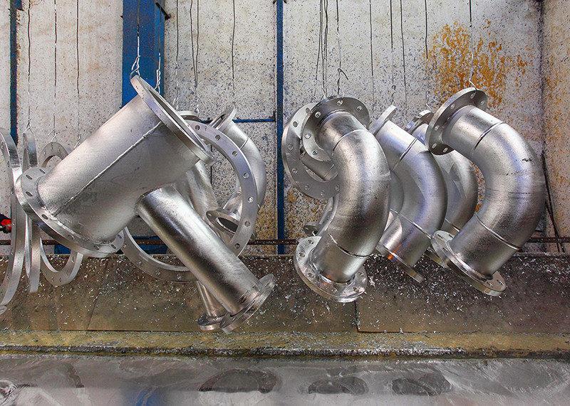 corrosión - zinc - oxido