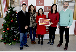 Trabajadores y Clientes de Galsusa hacen una donación a la Asociación Nuevo Futuro